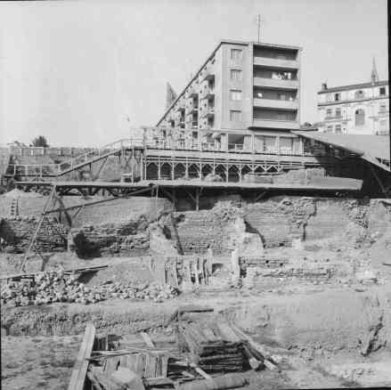 Cercetarea arheologica a Mozaicului Roman 1959 - 1960